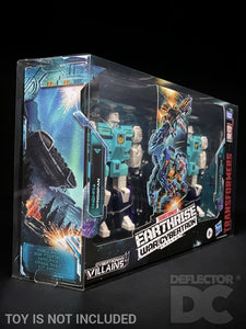 Transformers Siege War for Cybertron 2 Pack Display Case