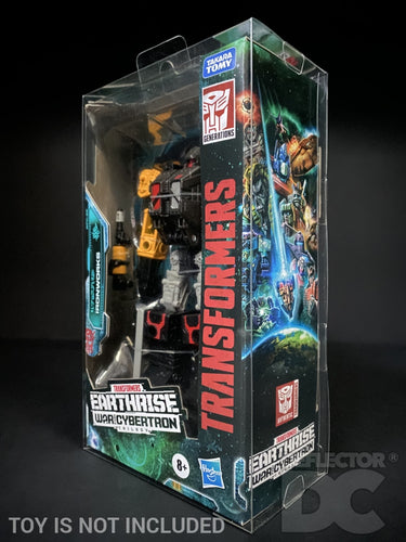 Transformers Earthrise War for Cybertron Deluxe Class Display Case