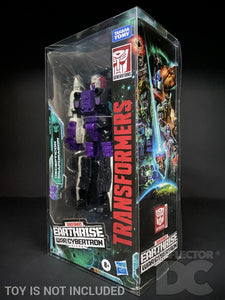 Transformers Earthrise War for Cybertron Voyager Class Display Case
