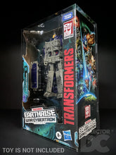 Load image into Gallery viewer, Transformers Earthrise War for Cybertron Leader Class Display Case