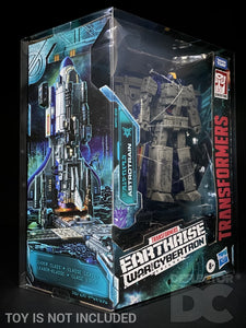 Transformers Earthrise War for Cybertron Leader Class Display Case