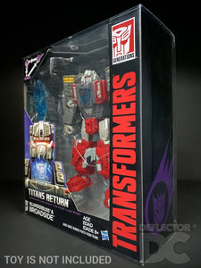 Transformers Generations Titans Return Voyager Class Display Case