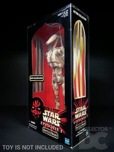 Star Wars Episode One Action Collection 12 Inch Figure Display Case