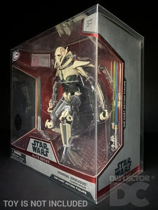 Star Wars Elite Series Die Cast General Grievous Display Case
