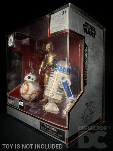 Star Wars Elite Series Droid 3 Pack Display Case