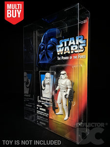 Star Wars The Power of the Force 3.75 Inch Figure Display Case
