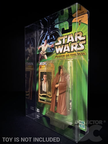 Star Wars Power of the Jedi Carded Figure Display Case