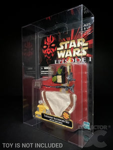Star Wars Episode One Carded Figure Display Case