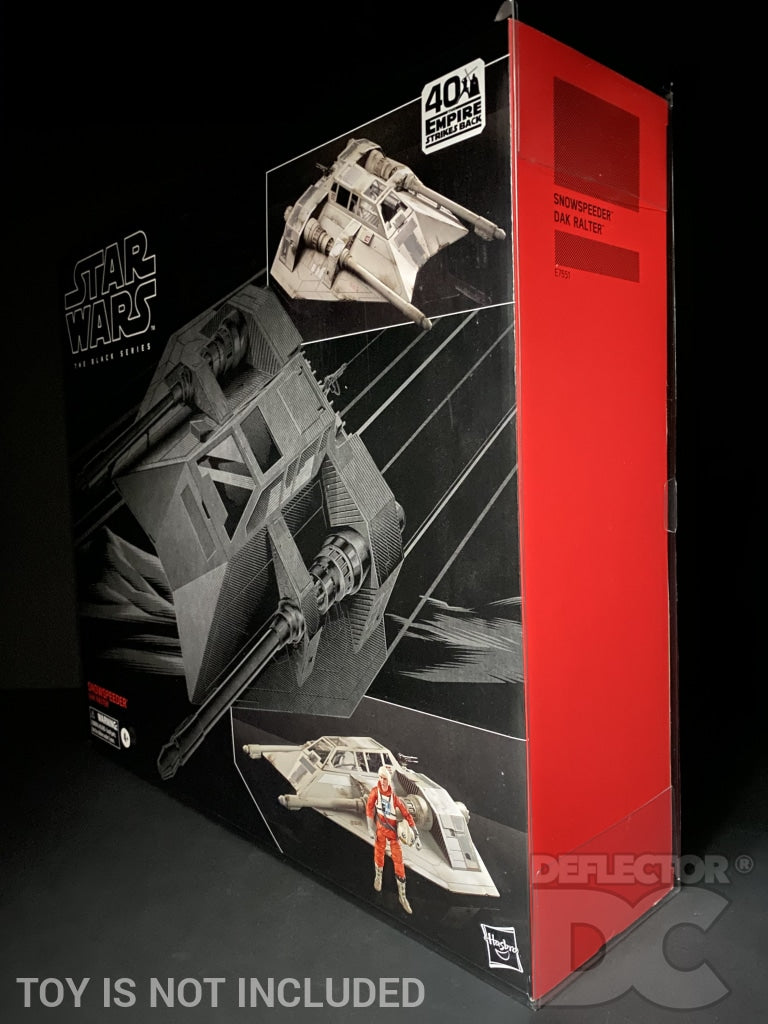 Star Wars The Black Series 6 Inch Snowspeeder Display Case