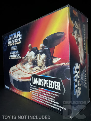 Star Wars The Power Of The Force Landspeeder Display Case