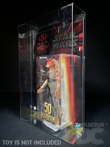 Star Wars Episode One Lucasfilm 50th Anniversary Figure Display Case