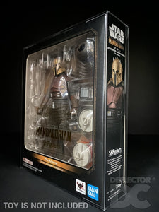 Star Wars Bandai S.H. Figuarts The Mandalorian The Armorer Display Case