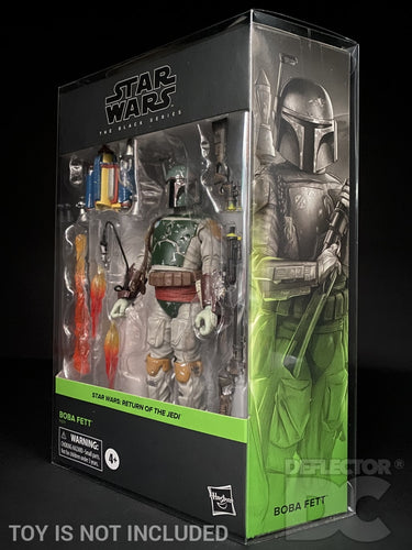 Star Wars The Black Series Deluxe Boba Fett Figure Display Case