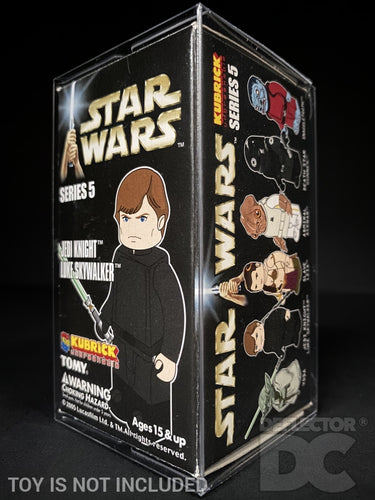 Star Wars Kubrick Boxed Figure Display Case