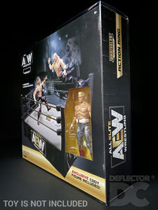 AEW Unrivalled Collection Action Ring with Cody Figure Display Case