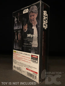 Star Wars Bandai S.H. Figuarts Han Solo TFA Display Case