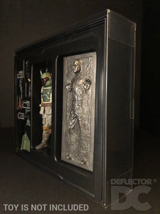 Star Wars The Black Series SDCC Boba Fett & Han Solo in Carbonite Display Case