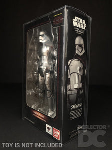 Star Wars Bandai S.H. Figuarts Captain Phasma TLJ Display Case