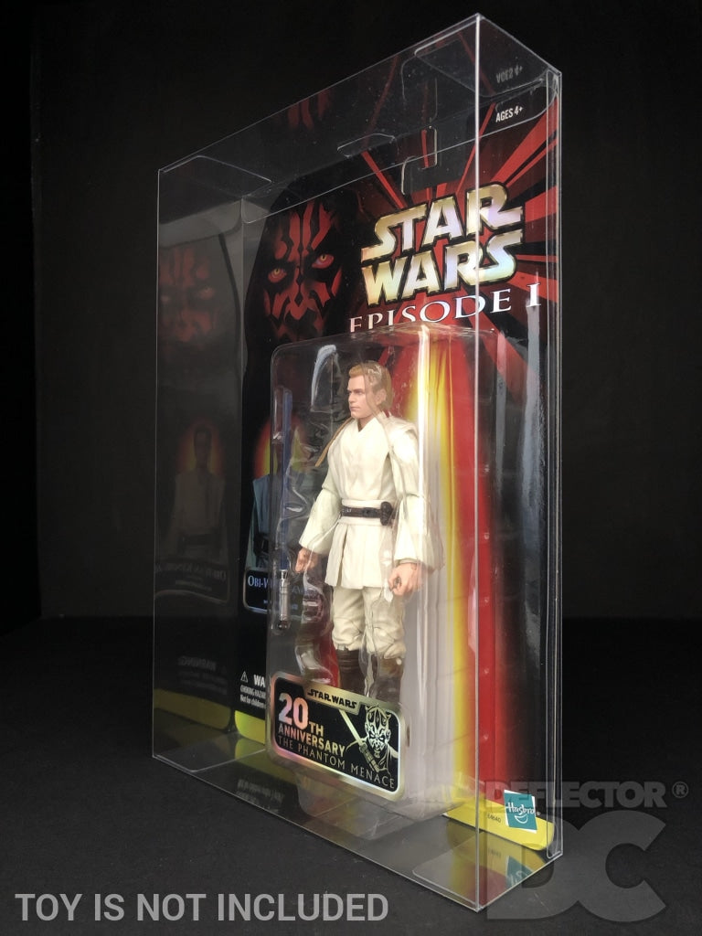 Star Wars Episode One 20th Anniversary 6 Inch Figure Display Case
