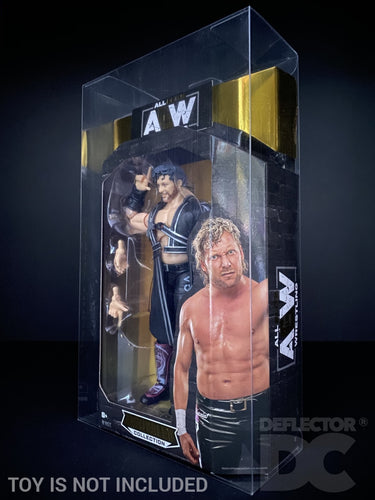 AEW Unrivalled Collection Figure Display Case