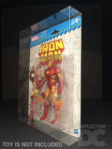Marvel Legends Vintage Retro Series Action Figure Display Case