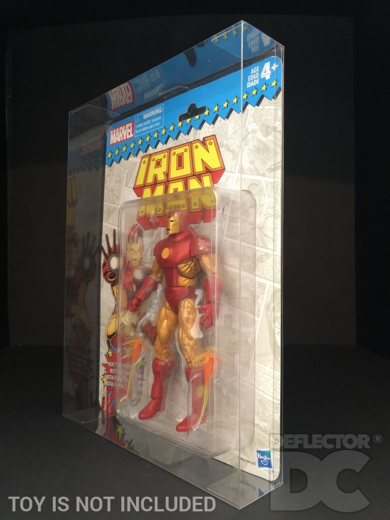 Marvel Legends Vintage Retro Series Action Figure MOC Display Case