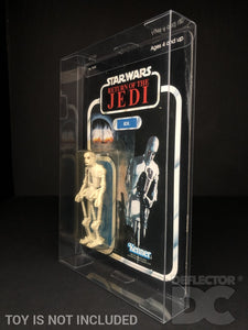 Star Wars Vintage 3.75 Inch Kenner/Palitoy Figure Display Case