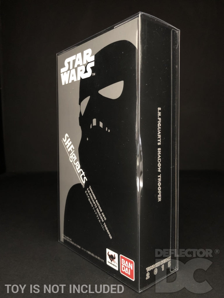 Star Wars Bandai S.H. Figuarts Shadow Trooper SW Display Case