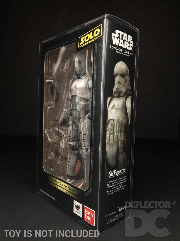 Star Wars Bandai S.H. Figuarts Mimban Stormtrooper SOLO Display Case