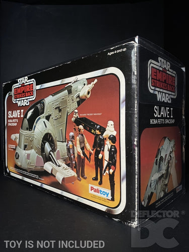 Star Wars Vintage Slave 1 Boba Fett's Spaceship Display Case