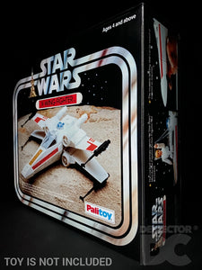 Star Wars Vintage X-Wing Fighter Display Case