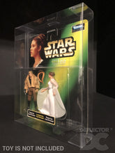 "Load image into Gallery viewer, Star Wars Princess Leia Collection 3.75"" Figure Display Case"