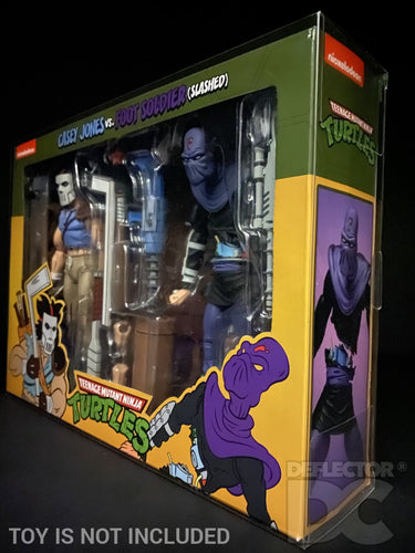 Teenage Mutant Ninja Turtles NECA TMNT 2 Pack Small Display Case