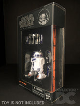 Load image into Gallery viewer, Star Wars The Black Series (Blue/Orange) 6 Inch Figure Display Case