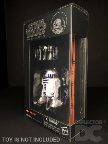 Star Wars The Black Series (Blue/Orange) 6 Inch Figure Display Case