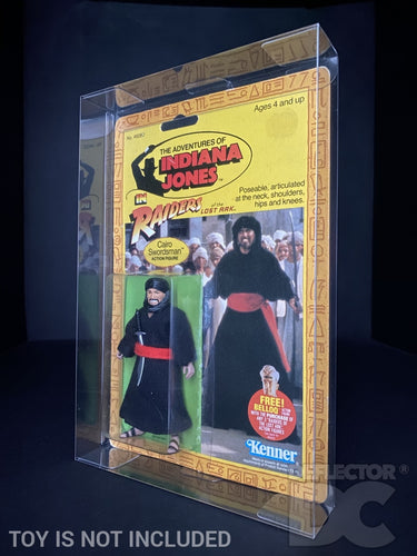 Indiana Jones Vintage 3.75 Inch Figure Display Case