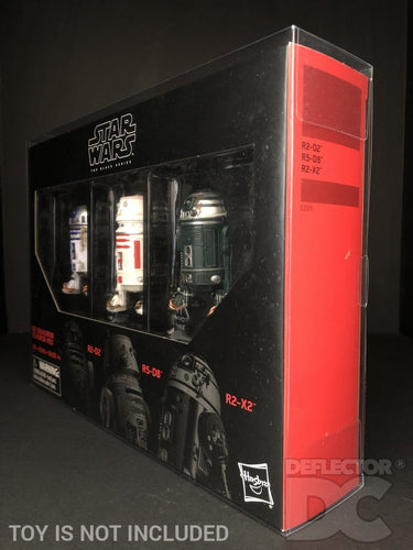 Star Wars The Black Series 6 Inch Droid 3 Pack Display Case