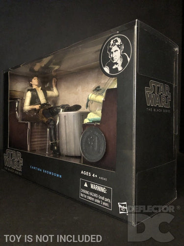 Star Wars The Black Series 6 Inch Cantina Showdown Display Case
