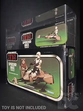 Load image into Gallery viewer, Star Wars Vintage Speeder Bike (With Flap) Display Case