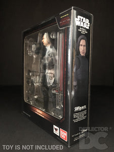 Star Wars Bandai S.H. Figuarts Kylo Ren TLJ Display Case