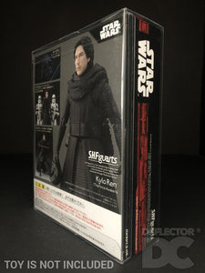 Star Wars Bandai S.H. Figuarts Kylo Ren (Unmasked) TFA Display Case