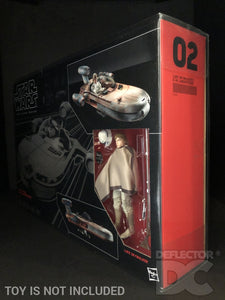 Star Wars The Black Series Luke Skywalker Landspeeder Display Case