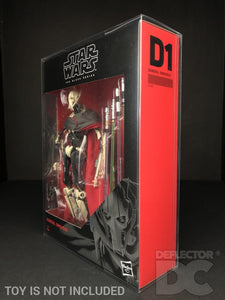 Star Wars The Black Series 6 Inch General Grievous Display Case