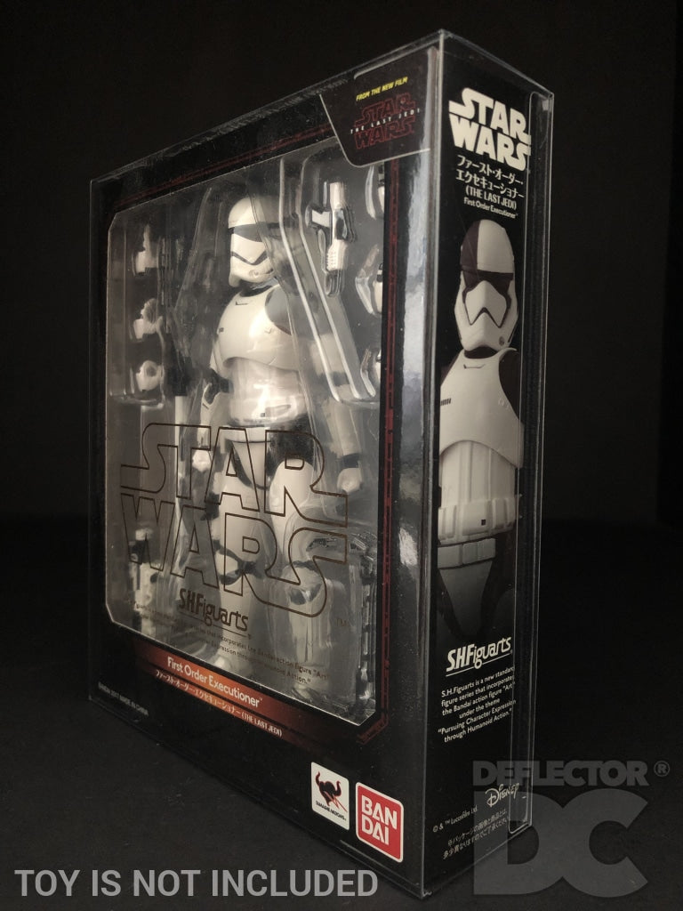 Star Wars Bandai S.H. Figuarts First Order Executioner TLJ Display Case