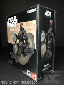 Star Wars Bandai S.H. Figuarts Sith Speeder TPM Display Case