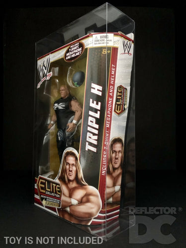 WWE Elite Collection Series 18-24 Figure Display Case