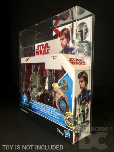 Star Wars Force Link 2 Pack 3.75 Inch Figure Display Case