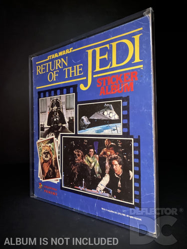 Panini Star Wars The Return Of The Jedi Sticker Album Display Case
