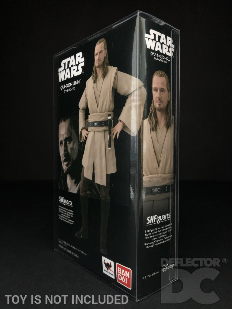 Star Wars Bandai S.H. Figuarts Qui-Gon Jinn TPM Display Case