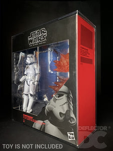 Star Wars The Black Series 6 Inch Stormtrooper with Blast Accessories Display Case